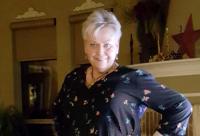 photo of Denise post surgery